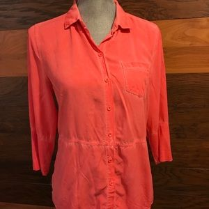 Crosby High-Low Blouse - M